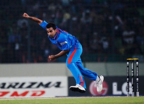 Only three Indian bowlers have more ODI wickets than Zaheer Khan