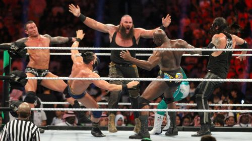 The Royal Rumble may have have been the point of arrival for The Elite had they signed with WWE.