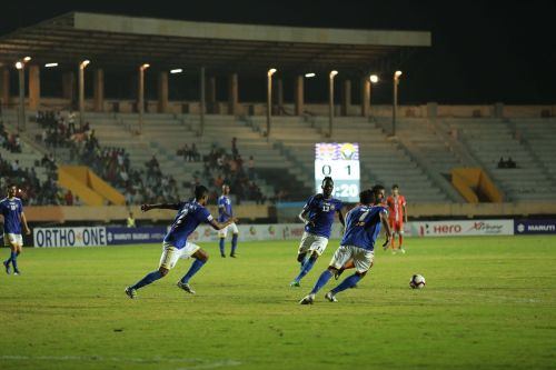 Chennai City FC failed to garner many chances in their attack
