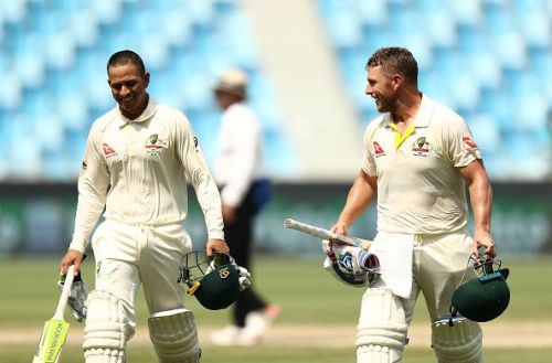 Pakistan v Australia: 1st Test - Day Three