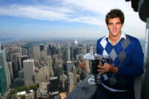 US Open 2009 Champion Juan Martin Del Potro