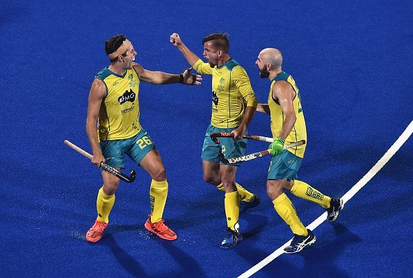 Defending Champions Australia are unassailable at the top of Pool B