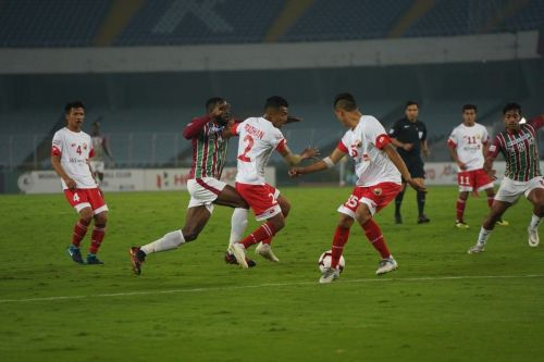 Shillong Lajong came to this match after 6-1 drubbing against Real Kashmir