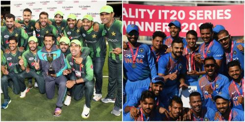 Pakistan and India have been the top two teams in T20I cricket this year
