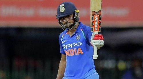 Manish Pandey scored an unbeaten 111 in the 2nd ODI to seal the series for India A