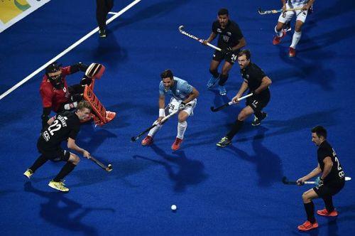 New Zealand v Argentina - FIH Men's Hockey World Cup