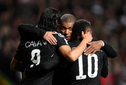 Neymar, Mbappe and Cavani have been annihilating defences in Ligue 1 this season