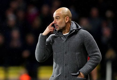 Pep Guardiola is frustrated with the injury list