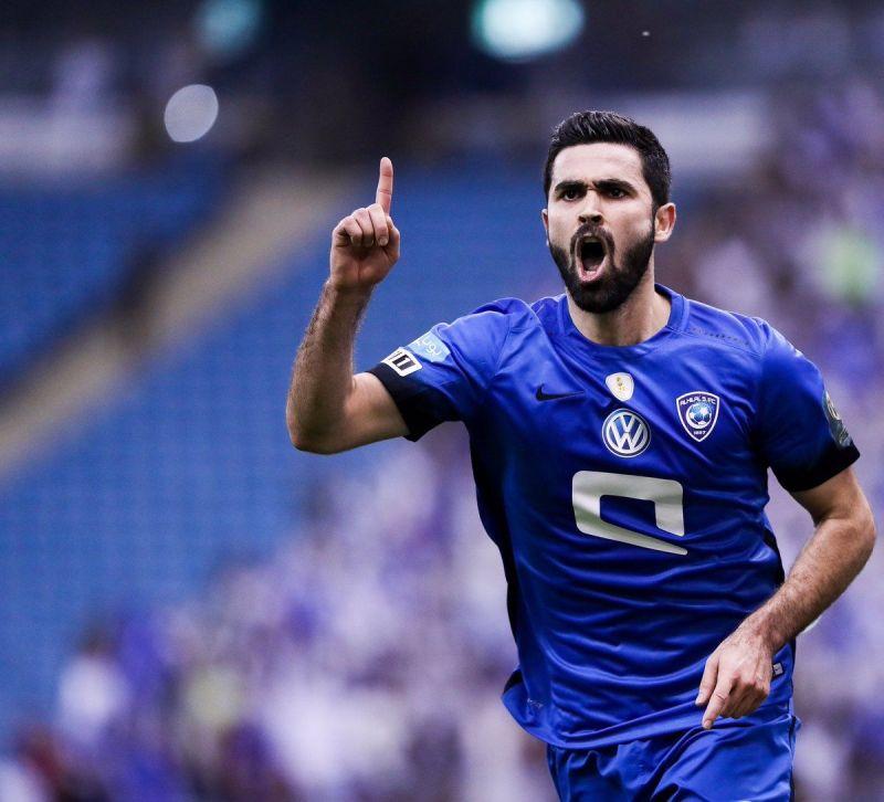 Omar Kharbin (Image Courtesy: Twitter - Al-Hilal)