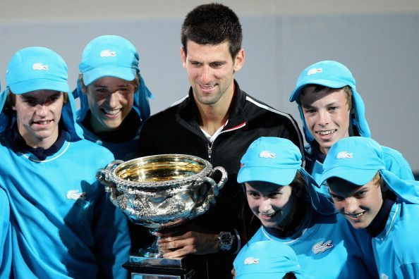 Novak Djokovic had to spend over 10 hours on court during his semi-final and final win over Andy Murray and Rafael Nadal respectively before lifting his third Australian Open trophy in 2012.