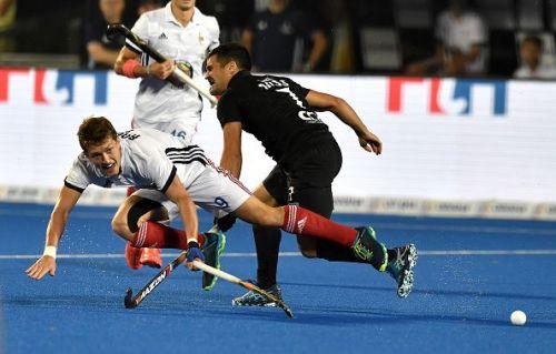 New Zealand v France - FIH Men's Hockey World Cup