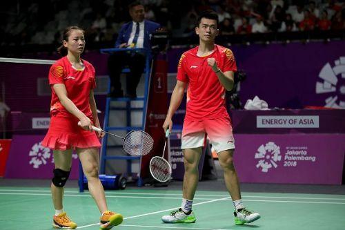 Huang Yaqiong and Zhang Siwei