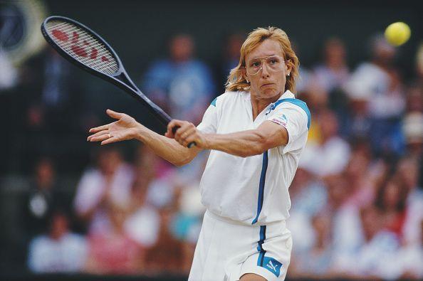 Martina Navratilova was coached by Mike Estep