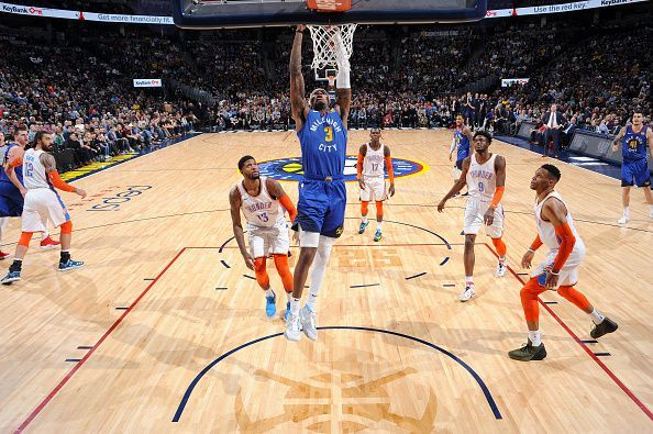 d9c1511f5ea8df Denver Nuggets vs Oklahoma City Thunder Denver Nuggets vs Oklahoma City  Thunder. The NBA has struck a deal with popular video streaming service  Amazon ...