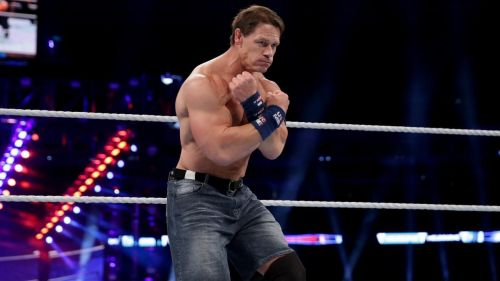 Cena enthralled the crowd at Madison Square Garden