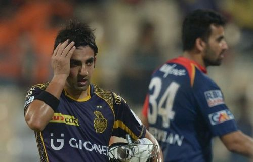 Gambhir surprised everyone when he announced his retirement from the game