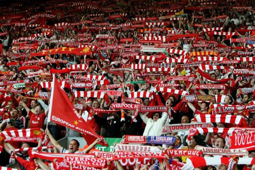 The Kop in full voice