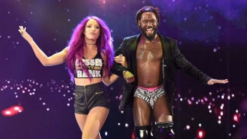 Sasha Banks had featured in a mixed tag team match with Rich Swann at the Extreme Rules Pay-Per-View