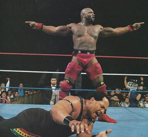 Ahmed Johnson had a phenomenal look, but literally no one could understand what he was saying.