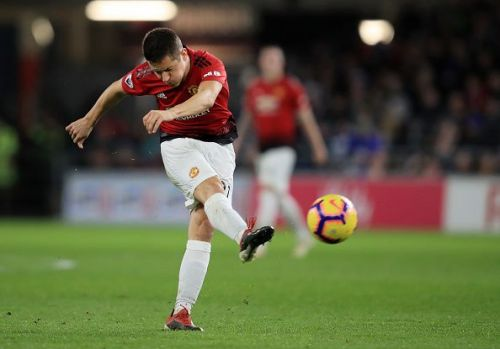 Herrera was allowed to play at a more advanced position