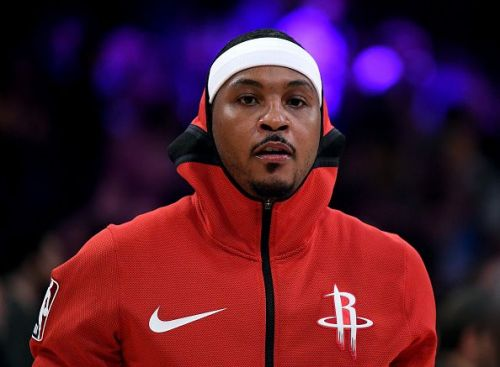 Carmelo Anthony's spell with the Rockets lasted 10 games