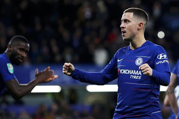 Eden Hazard has been absolutely clinical this season for Chelsea