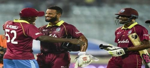 Shai Hope has been the sole performer for the Windies so far