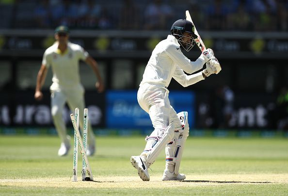 KL Rahul continues his bad form with the bat.