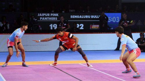 Pawan Kumar Sehrawat scored 16 raid points tonight