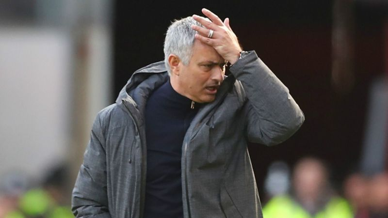 Jose Mourinho was fired as Man United manager on Tuesday