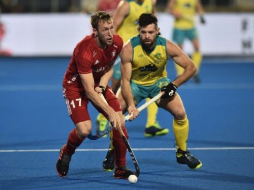 Action from Australia vs England match on Tuesday