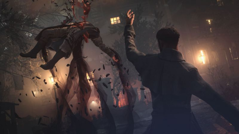 an action sequence in Vampyr