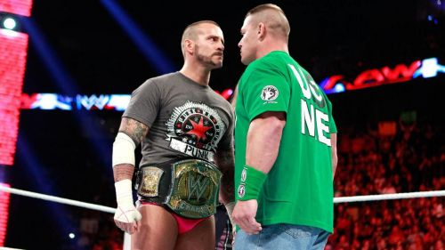 Image result for cm punk vs