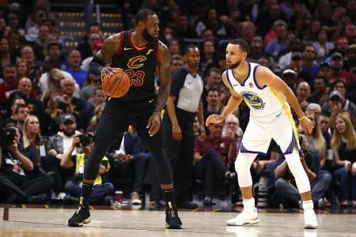 Steph Curry and LeBron James have faced off over the last four NBA Finals