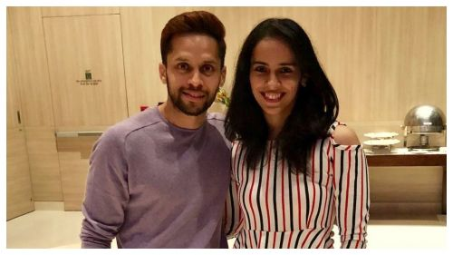 Parupalli Kashyap with Saina Nehwal in an earlier photo