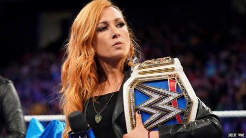WWE SmackDown Live Women's Champion Becky Lynch