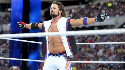 AJ Styles had made his WWE debut during the Royal Rumble match in 2016