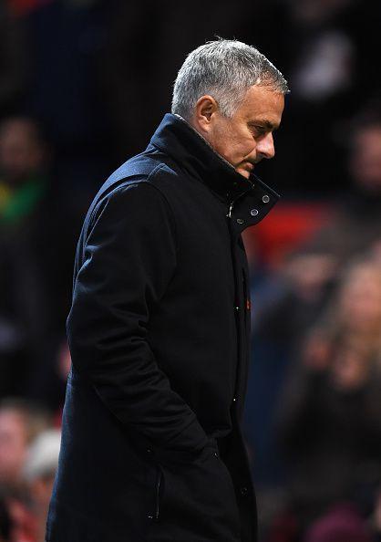 Former Manchester United manager Jose Mourinho