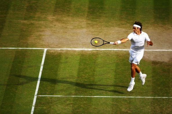 The Roger Federer forehand