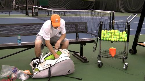 Tennis bags keep players organized and keeps all their tennis equipment safe