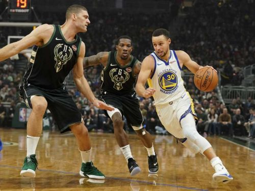 The Warriors rolled past the Bucks