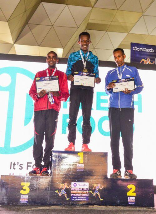 Bengaluru Midnight Marathon: Men's Winners
