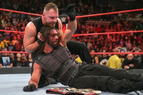 Raw has switched up the storytelling in the feud between Ambrose and Rollins
