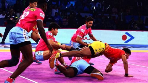Jaipur Pink Panthers did well in defence in Panchkula