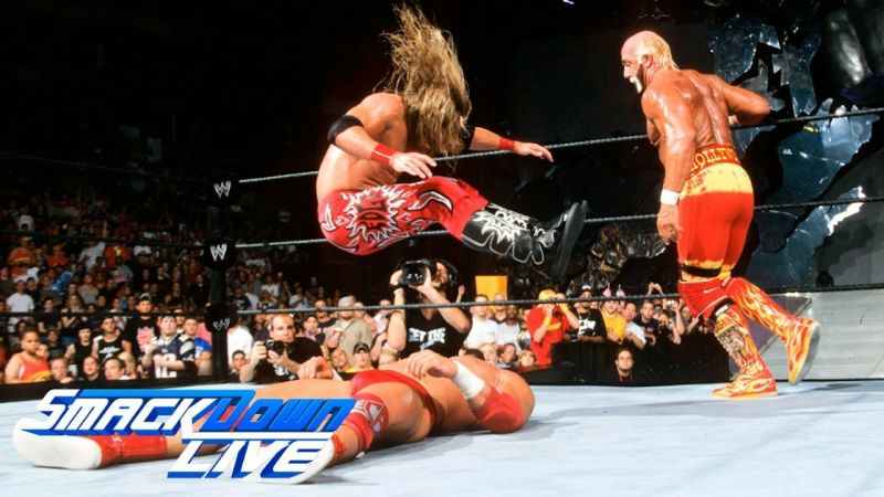 Edge legdrops his way to becoming a Tag Team Champion with the Hulkster