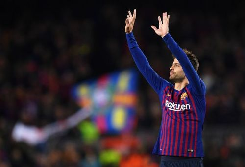 Still one of the very best in the business: Gerard Pique