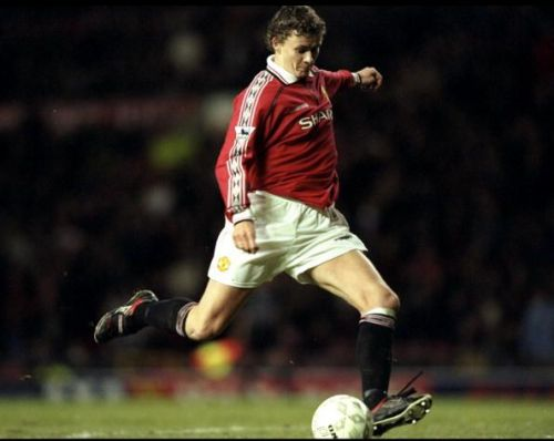Ole Gunnar Solskjaer scored for United in the famous 1999 Champions League finals