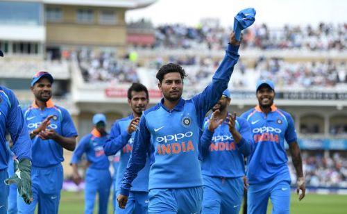 Kuldeep Yadav is the third Indian to bag an ODI hat-trick