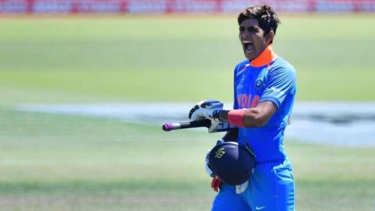 Image result for shubman gill india selection.