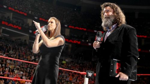 Stephanie McMahon made the historic announcement of the Universal Championship on RAW